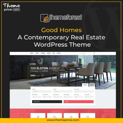 Good Homes A Contemporary Real Estate WordPress Theme-min