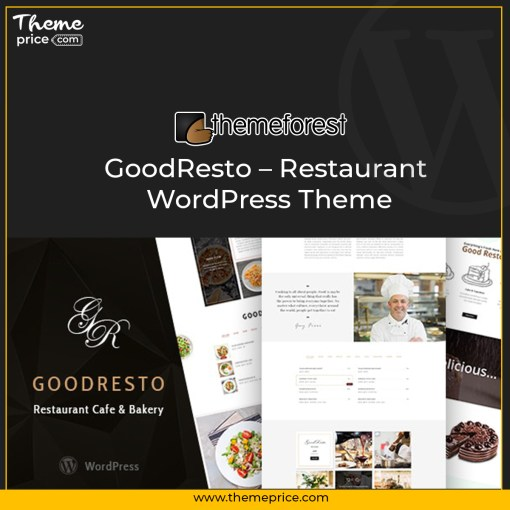 GoodResto – Restaurant WordPress Theme