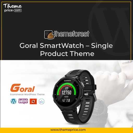 Goral SmartWatch – Single Product Theme