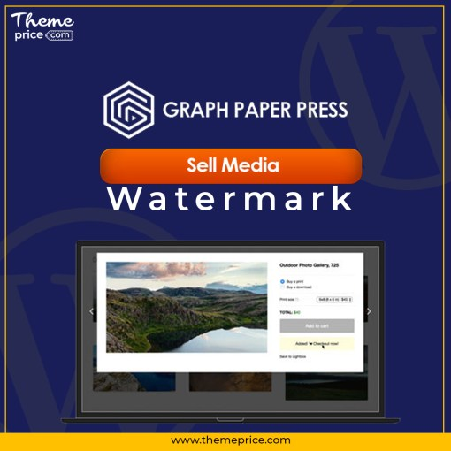 Graph Paper Press Sell Media Watermark