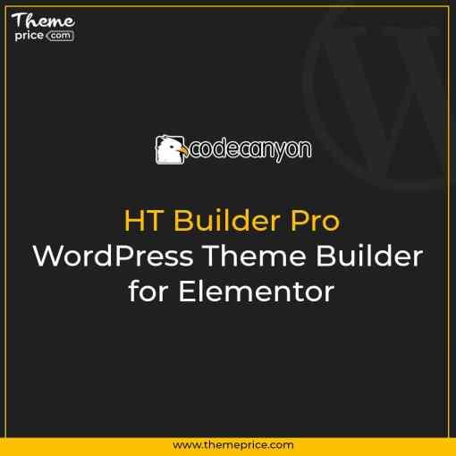 HT Builder Pro – WordPress Theme Builder for Elementor
