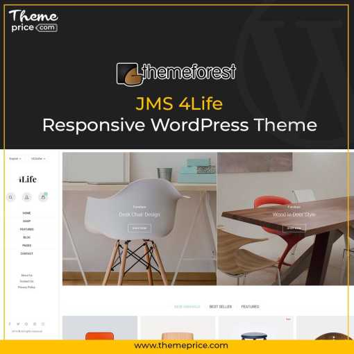 JMS 4Life – Responsive WordPress Theme