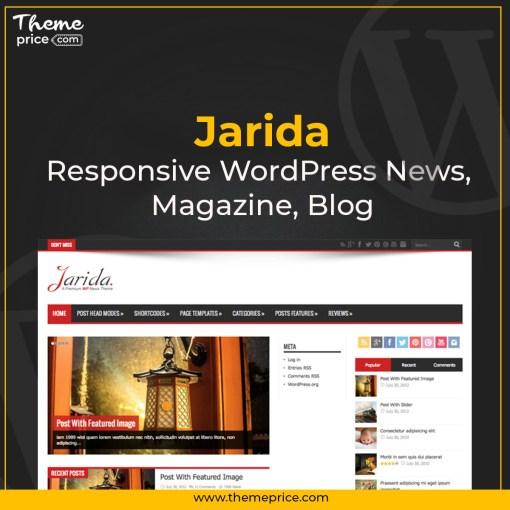 Jarida – Responsive WordPress News, Magazine, Blog