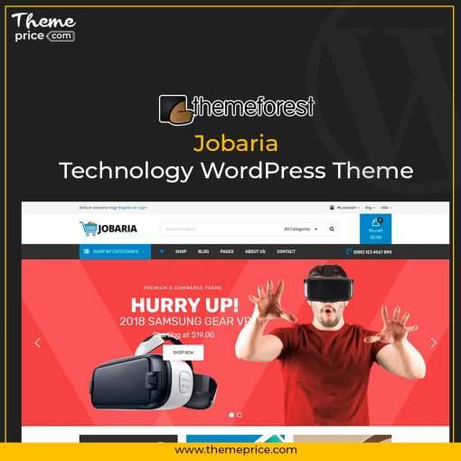 Jobaria – Technology WordPress Theme