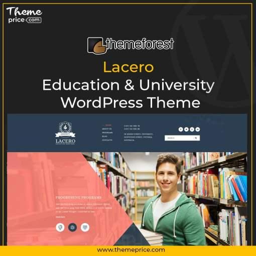 Lacero – Education & University WordPress Theme