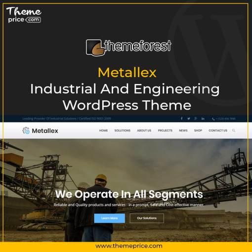 Metallex – Industrial And Engineering WordPress Theme-min