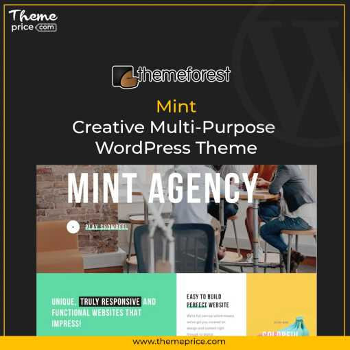 Mint – Creative Multi-Purpose WordPress Theme