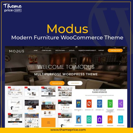 Modus – Modern Furniture WooCommerce Theme