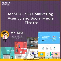 Mr SEO – SEO, Marketing Agency and Social Media Theme