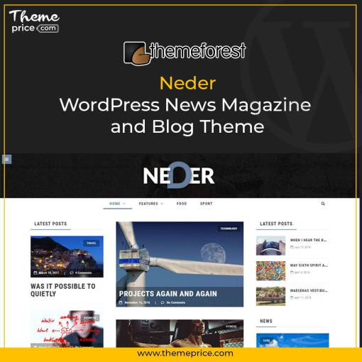 Neder – WordPress News Magazine and Blog Theme
