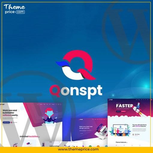 Qonspt – Isometric MultiPurpose WordPress Theme 1.0.3