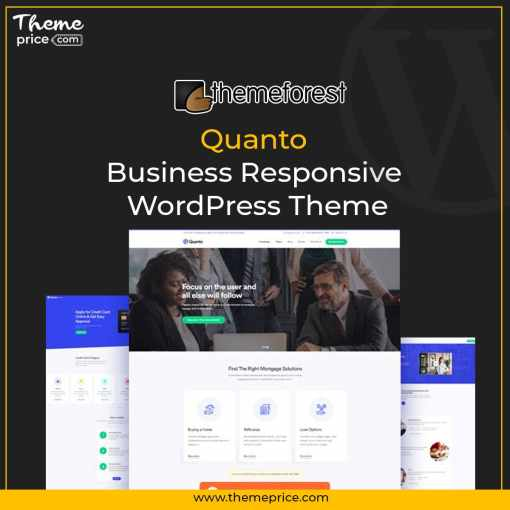 Quanto – Business Responsive WordPress Theme