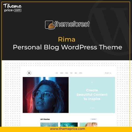 Rima – Personal Blog WordPress Theme