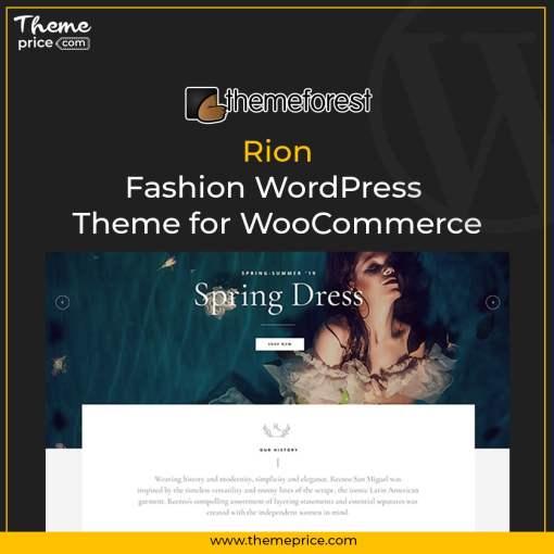 Rion – Fashion WordPress Theme for WooCommerce