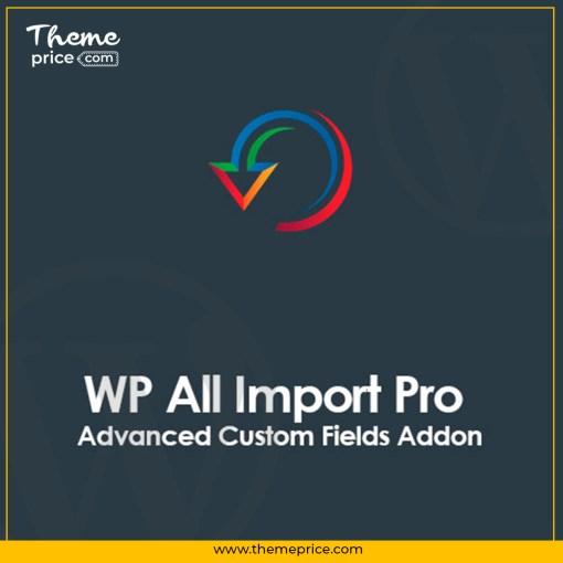 WP All Import Pro Advanced Custom Fields Addon