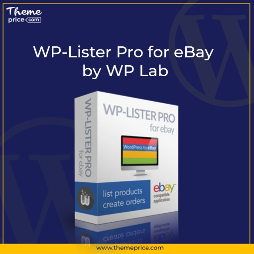 WP-Lister Pro for eBay by WP Lab