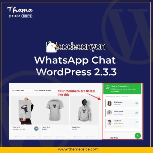 WhatsApp Chat WordPress 2.3.3