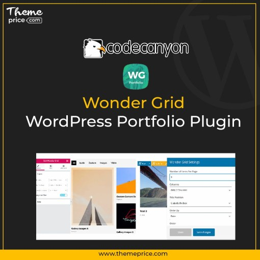 Wonder Grid – WordPress Portfolio Plugin