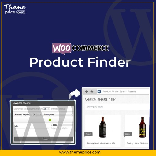 WooCommerce Product Finder