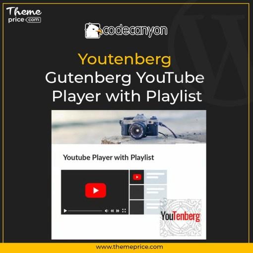 Youtenberg – Gutenberg YouTube Player with Playlist