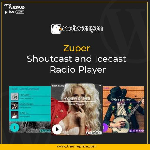 Zuper – Shoutcast and Icecast Radio Player