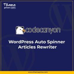 WordPress Auto Spinner – Articles Rewriter
