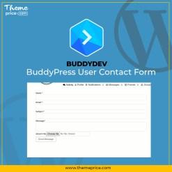 BuddyPress User Contact Form