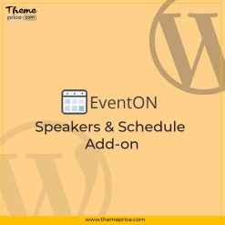 EventOn Speakers & Schedule Add-on