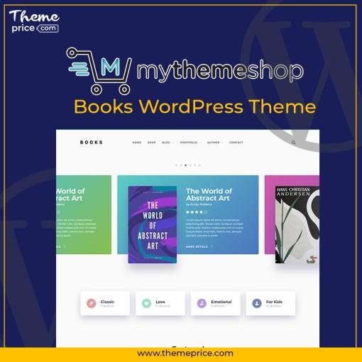 MyThemeShop Books WordPress Theme