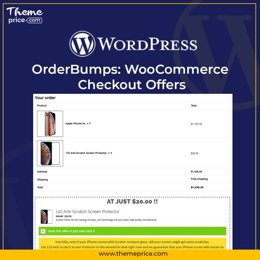 OrderBumps: WooCommerce Checkout Offers