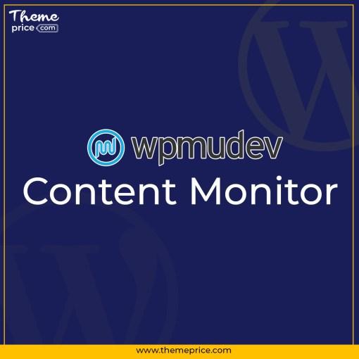 WPMU DEV Content Monitor
