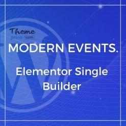 Elementor Single Builder for MEC
