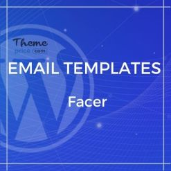 FACER – Responsive E-mail Templates set + Online Access