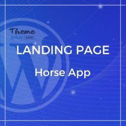 Horse App – HTML Responsive Template