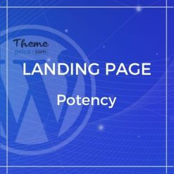 Potency – Creative Agency And Portfolio HTML5 Template