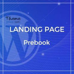Prebook – eBook Landing Page Responsive Bootstrap