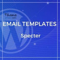 Specter – Responsive Email + Online Template Builder