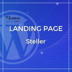 Steller Multipurpose Landing Page With Builder