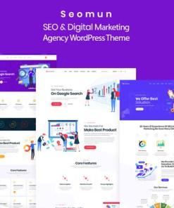 Seomun Digital Marketing Agency WordPress Theme