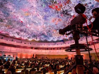 Mediapro image of camera framing an auditorium.