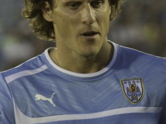 Diego Forlan for Uruguay.