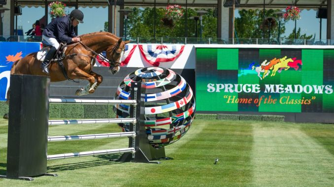 Spruce Meadows show jumping--new home of CanPL side Cavalry FC.
