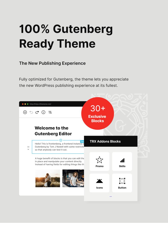 Katelyn | Gutenberg's blog WordPress theme - 4