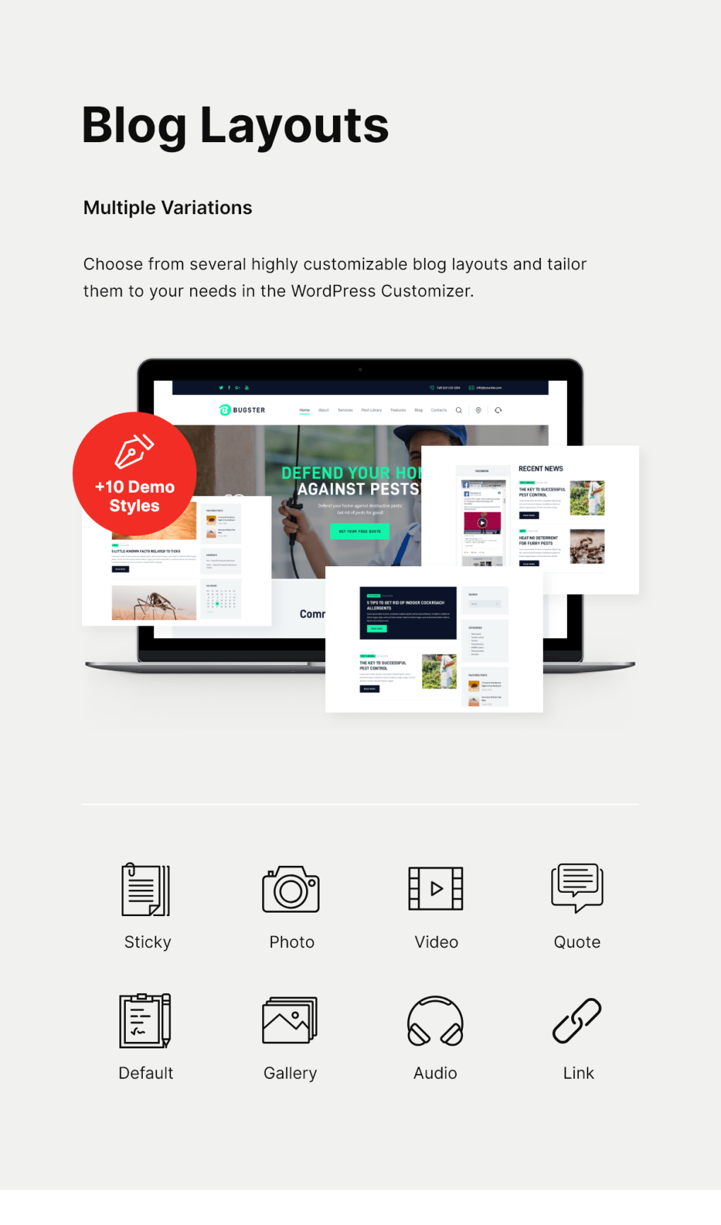 Bugster | Bugs & Pest Control WordPress Theme for Home Services - 4