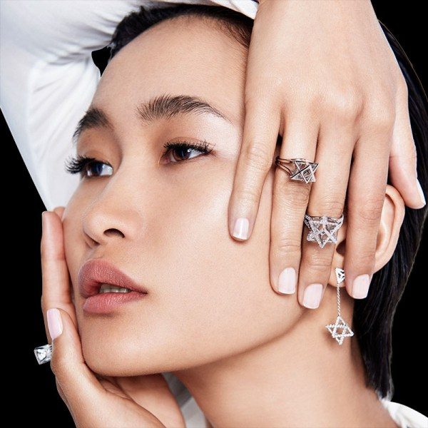 Merkaba Platinum Ring Fine Jewelry