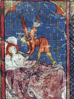 concepimento di merlino XIV secolo b
