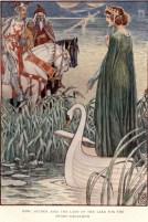 Merlino ed Excalibur - Walter Crane 1911
