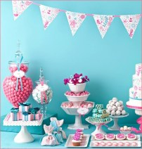 Vintage candy buffet