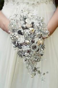 vintage jewellery bouquet