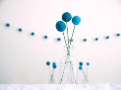 Beach wedding table decorations, by FairyfolkWeddings on etsy.com